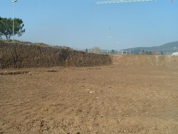 lavori di scavo